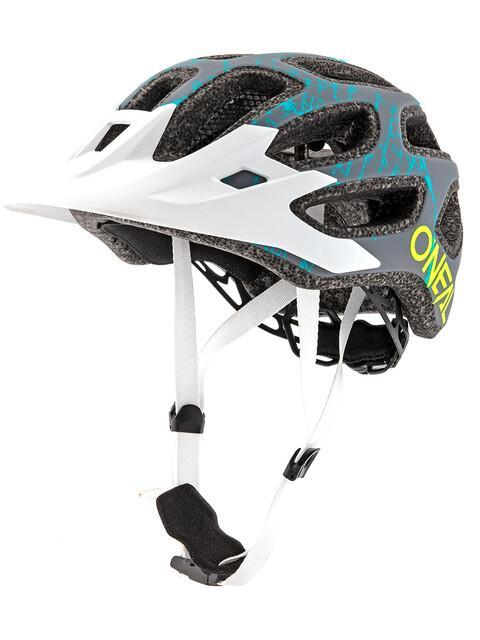 ONeal Thunderball 2.0 casco per bici Fusion grigio/bianco